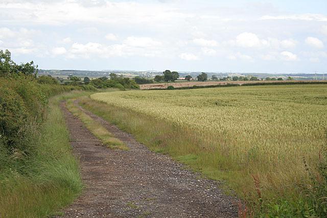 Farmland near Wheatley Wood Farm