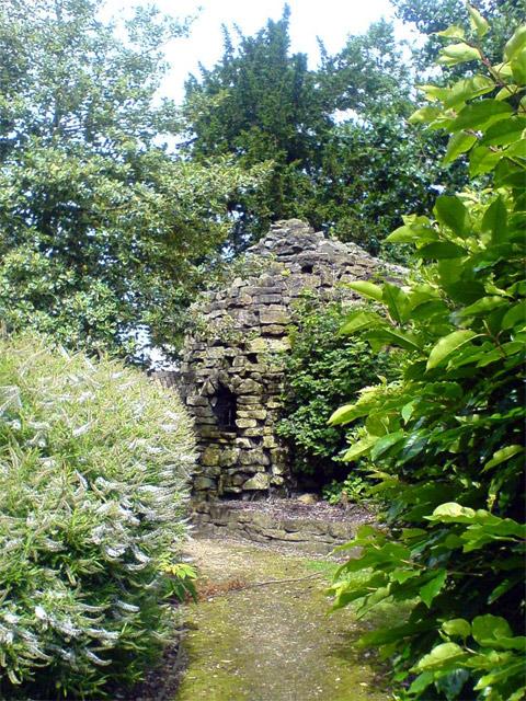 Stone built building, Carr Bank Park