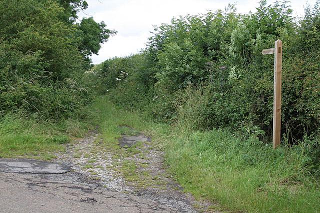 Footpath near South Leverton