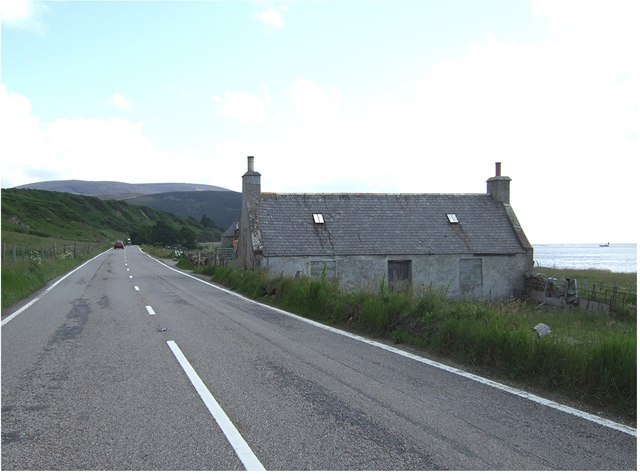 Abandoned cottage near Gartymore
