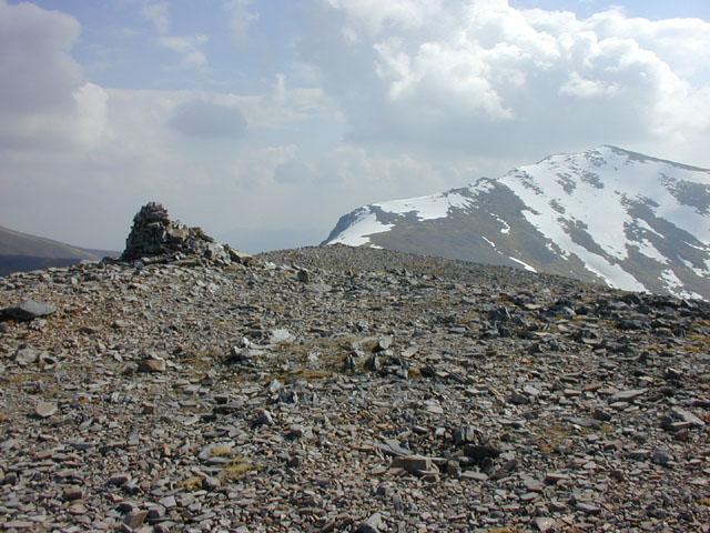 Summit of Meall a' Chrasgaidh