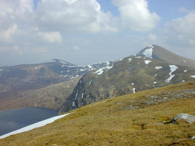 Northern Fannichs, from Meall a' Chrasgaidh