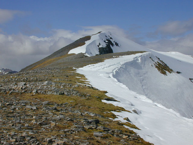 Summit of A' Chralaig
