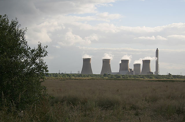 Landscape with Power Station