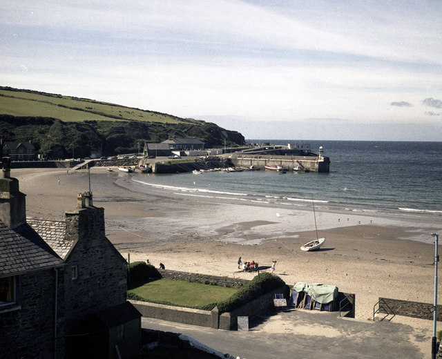 Port Erin Beach and Harbour
