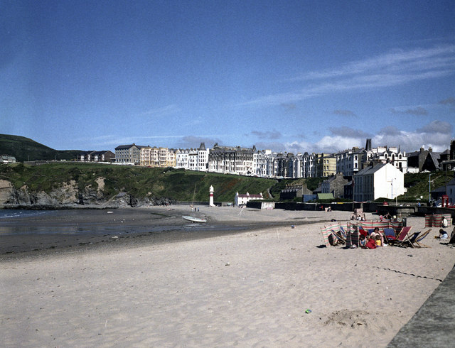 Port Erin: beach and seafront hotels