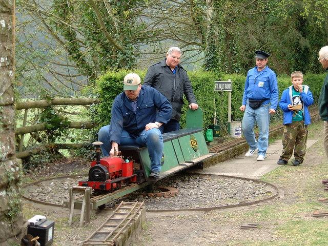 Steam Train at Tintern Old Station