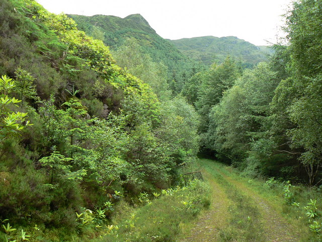 Corarsik Track, Glen Massan