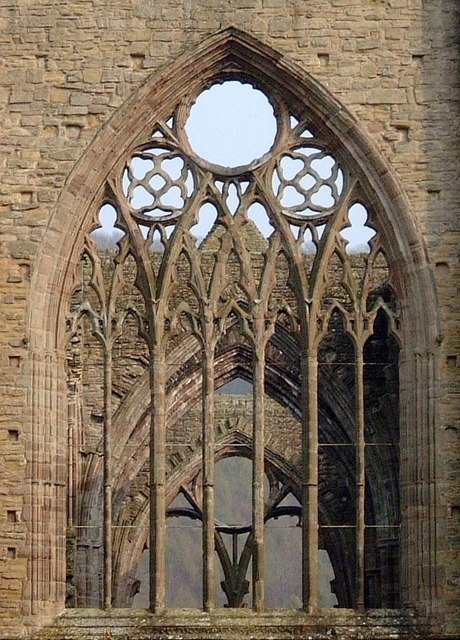 Window in Tintern Abbey