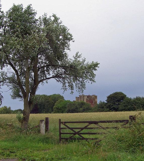 Looking towards Thornton Abbey Gatehouse