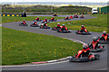 NZ3750 : Kart Racing at Karting North East by Richard Smith