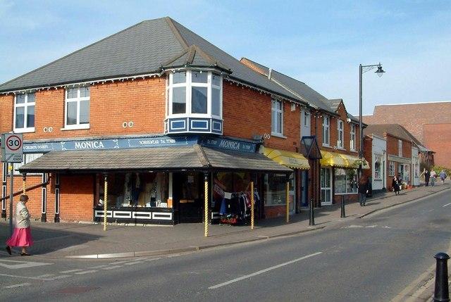 High Street & Heath Hill Road, Crowthorne