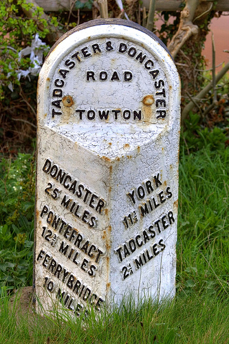Milestone, Towton
