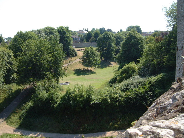 The Dell from Chepstow Castle