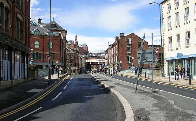 Leeds Bridge - Lower Briggate