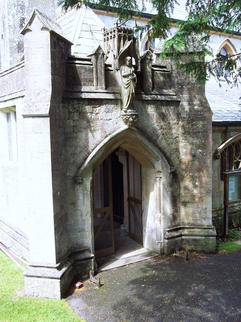 St Peter's Church, Pimperne - Porch