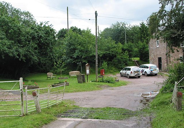 Cattle grid at Hole-in-the-Wall