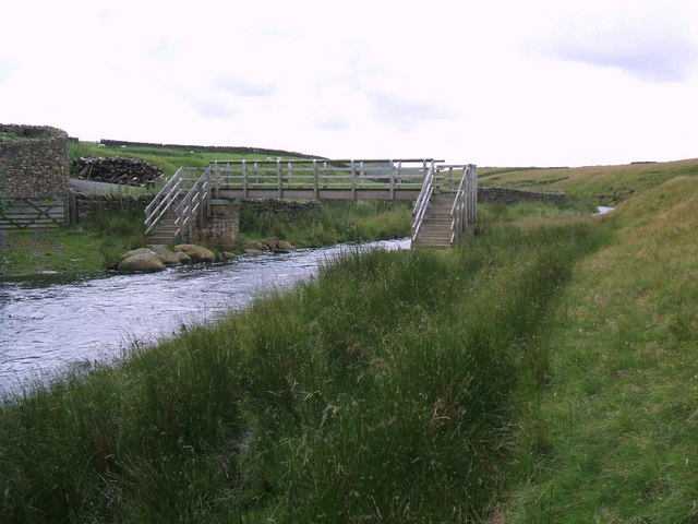Bridge over Deepdale Beck