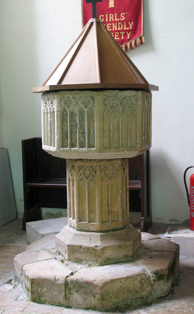 St Peter, Neatishead, Norfolk - Font
