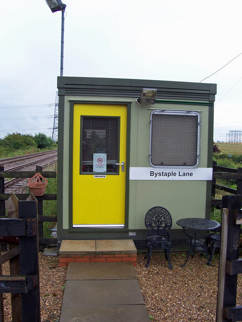 Control Cabin - Bystaple Lane Crossing