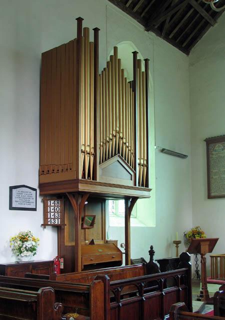 St Peter, Neatishead, Norfolk - Organ