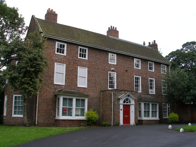 The former vicarage to St Mary's Church