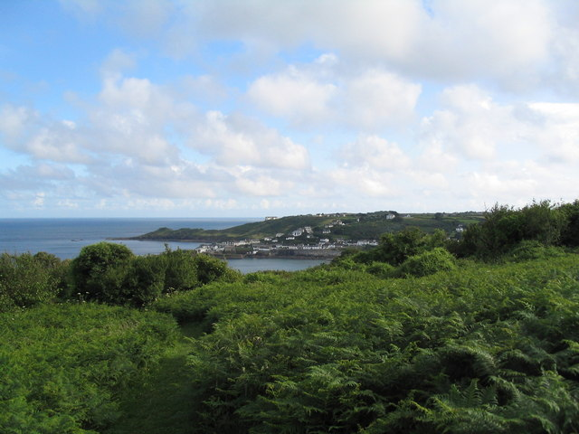 Approaching the coast near Coverack
