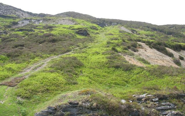 A trwnc incline