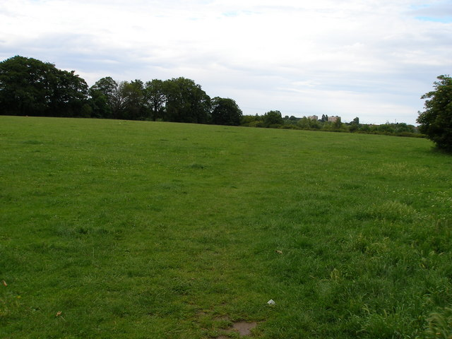 The Anglo Saxon Burial ground.