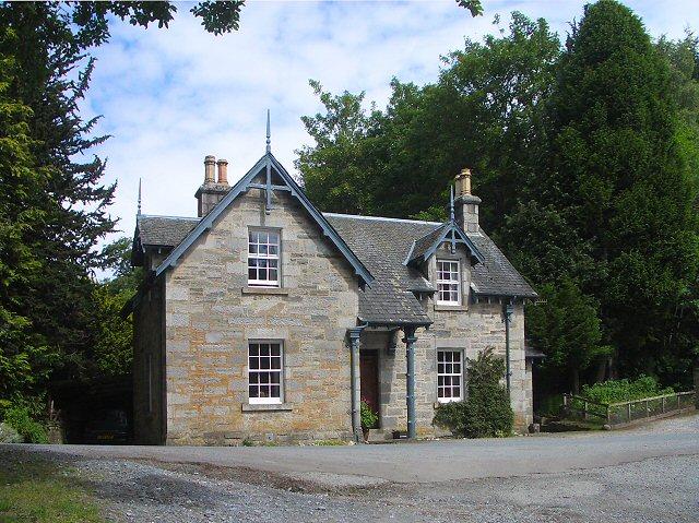 Stone house, Glen Tilt