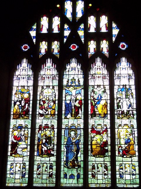 St Peter's Church, Pimperne - Stained Glass Window