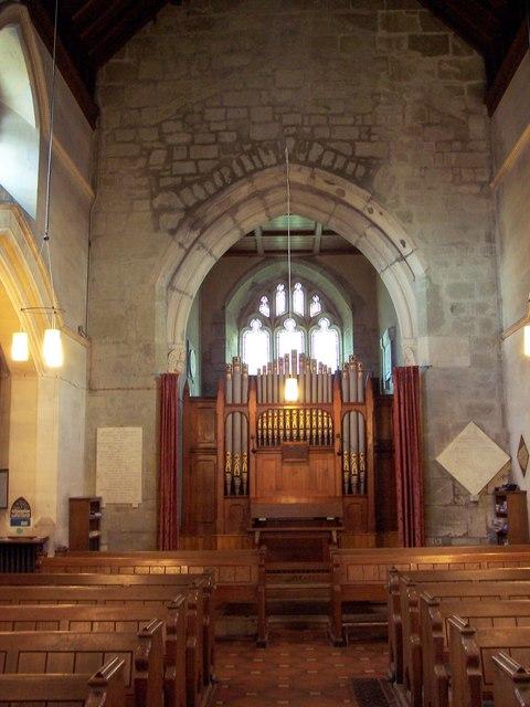St Peter's Church, Pimperne - Interior