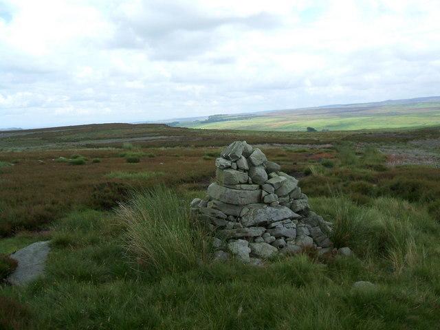 Pile of Stones Pennine Way, Near Ravock Castle