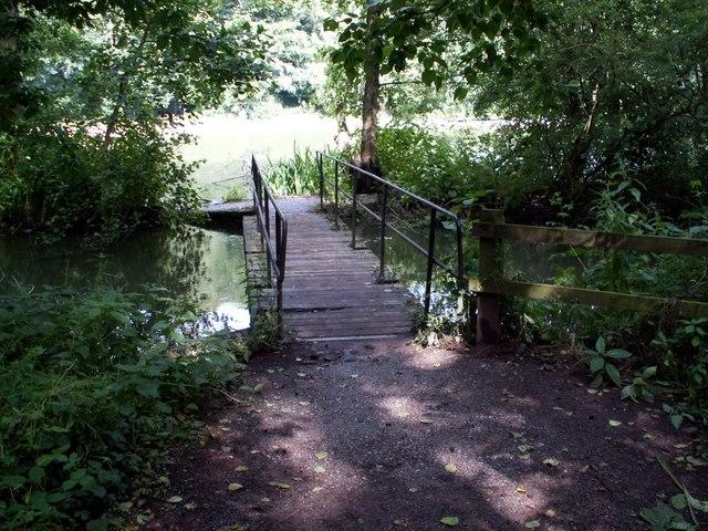 The bridge linking the causeway