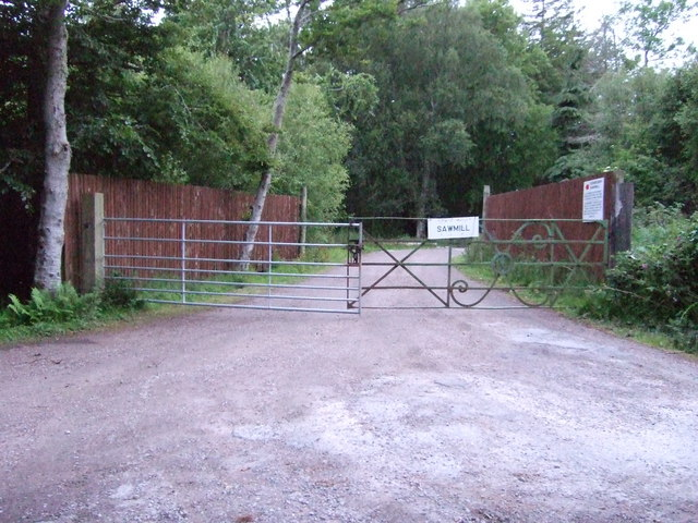 Entrance to Sawmill