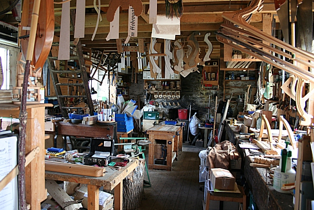 Fordyce Joiner's Workshop © Anne Burgess :: Geograph Britain and Ireland