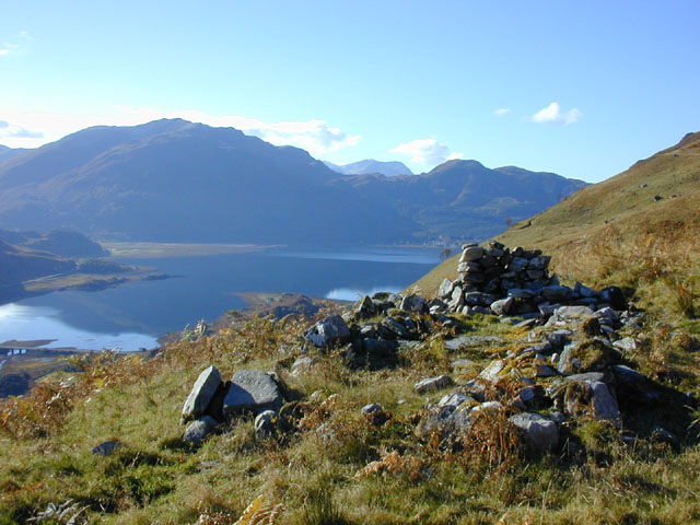 Shieling on Sgurr an Airgid