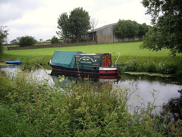 Lancaster Canal Trust narrow boat