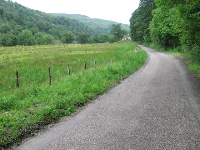 Glen Shira road towards Elrigbeag