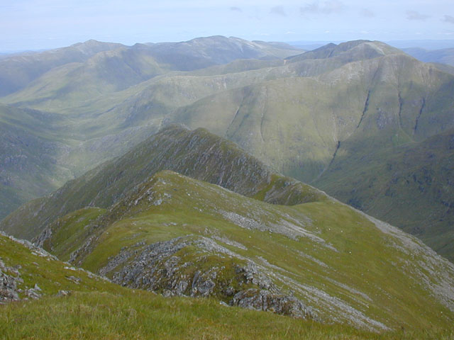 East ridge of Sgurr Fhuaran