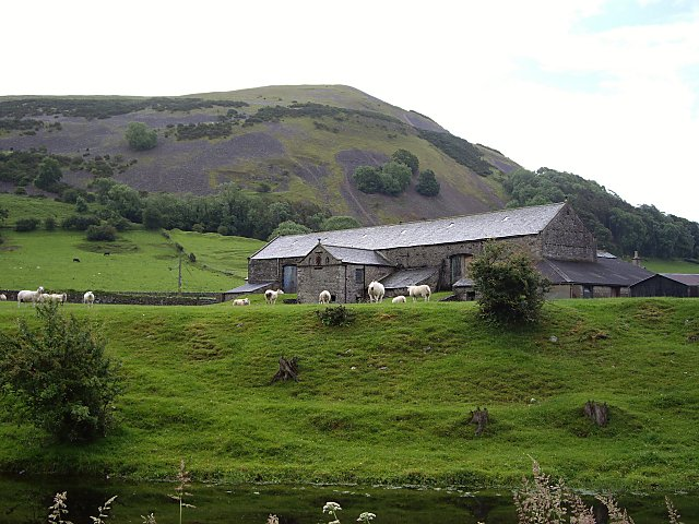 Farm Buildings On Edge of Farleton Fell