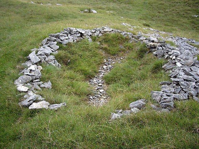 Circular Arrangement of Stones on Farleton Knott