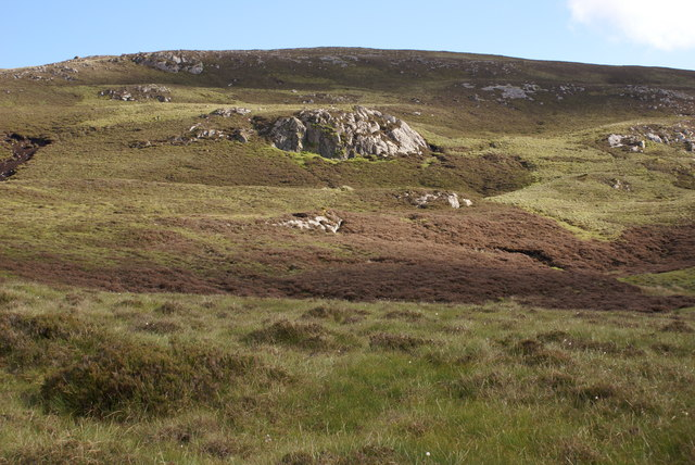 Lower Slopes of Scaraben West Top