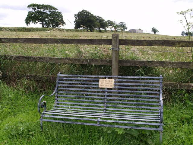 Seat at Chapple Cross