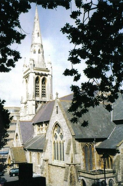 Bournemouth: parish church of St. Peter