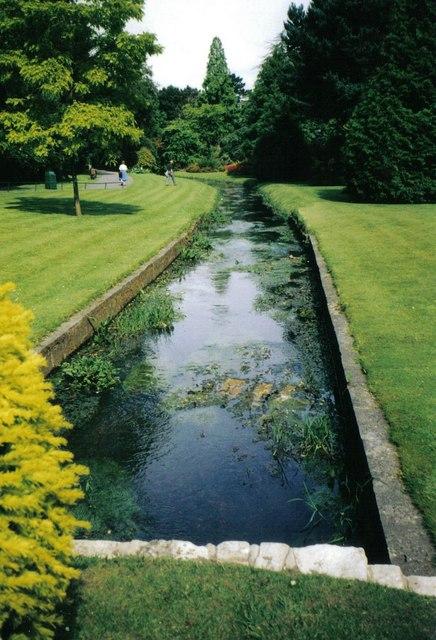 Bournemouth: Bourne stream in the Gardens