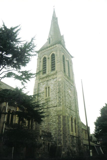Bournemouth: parish church of St. John, Surrey Road