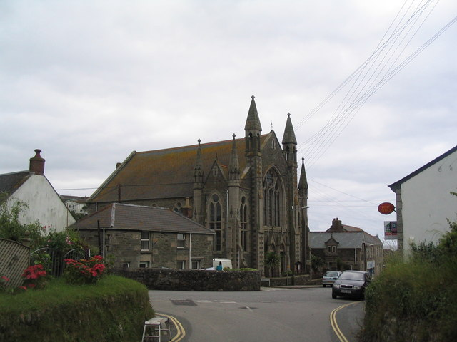 Methodist Church, Fore Street, Porthleven