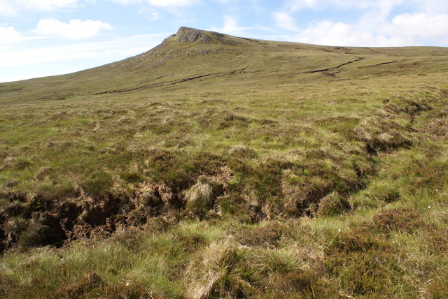 Moorland north of Smean