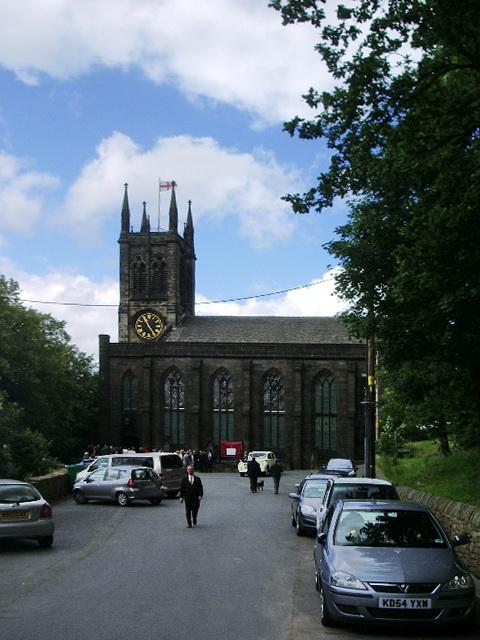 The Parish Church of St Chad, Saddleworth
